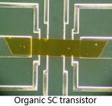 organic SC transistor