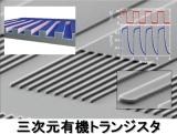 三次元有機トランジスタ